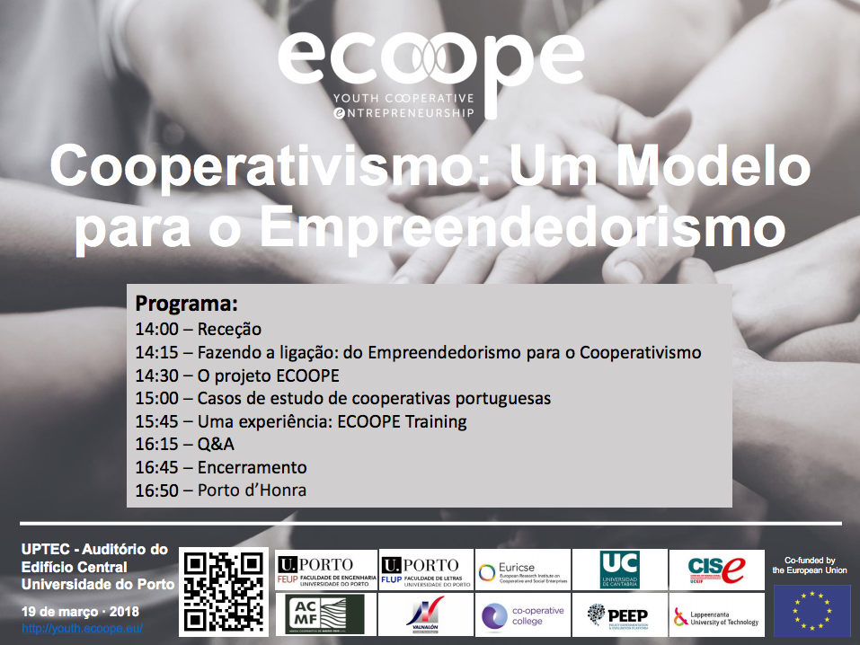 Mar 19 Seminar - Cooperativism Porto