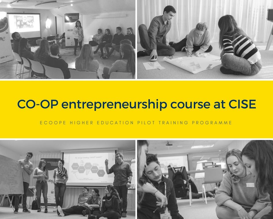 ECOOPE Uni pilots - Co-op training week at CISE